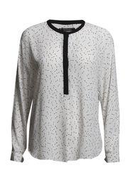 Printed blouse - Natural white