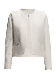 Structured cotton-blend jacket - Light beige