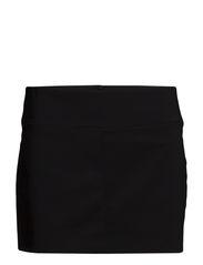 Grosgrain trim miniskirt - Black