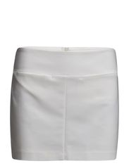 Grosgrain trim miniskirt - Natural white