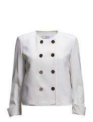 Double-breasted jacket - Natural white