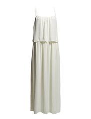 Double layer dress - Light beige