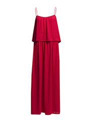 Double layer dress - Medium pink