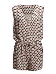 Geometric print jumpsuit - Lt-pastel pink