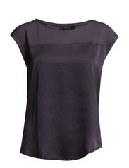 Contrast t-shirt - Dark grey