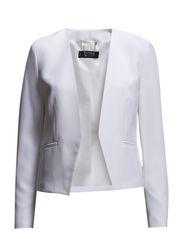 Minimal blazer - Natural white