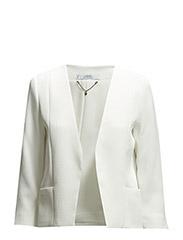 Textured jacket - Natural white