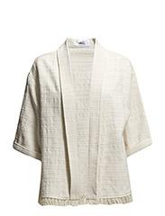 Cotton caftan - Light beige