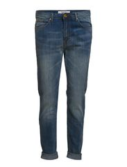 Girlfriend Lonny Jeans - Medium blue