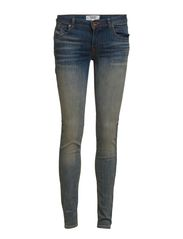 Push-up Uptown jeans - Medium blue