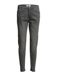 Girlfriend Lonny jeans - Open grey
