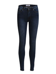 High waist jeans - Medium blue
