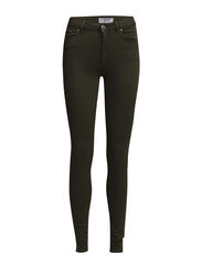 High waist jeans - Beige - khaki