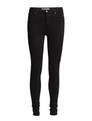 High waist jeans - Dark grey