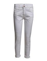 Girlfriend Lonny jeans - White