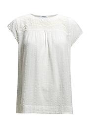 Cotton blouse - Natural white