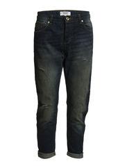 Boyfriend Angie jeans - Dark blue