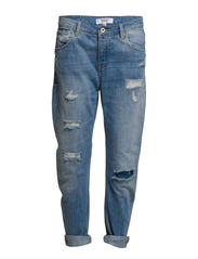 Boyfriend Angie jeans - Medium blue