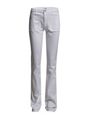 Flared Newflare Jeans - White