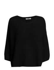 Chunky-knit sweater - Black