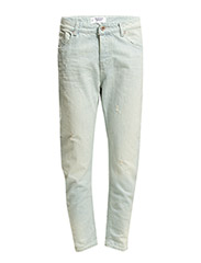 Boyfriend angie jeans - Open blue