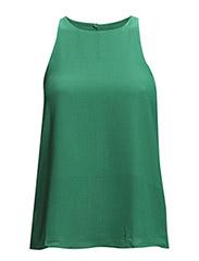 Halter neck top - Bright green