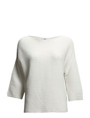 Stripe textured sweater - Natural white
