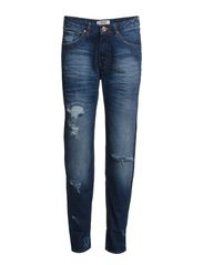 Boyfriend Lucky jeans - Open blue
