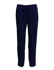 Baggy zip trousers - Bright blue