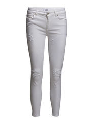 Cropped skinny Isa jeans - White