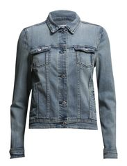 Light denim jacket - Lt-pastel blue