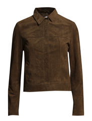 Peccary jacket - Dark brown