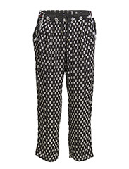 Ethnic baggy trousers - Black