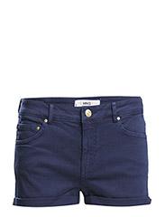 Cotton shorts - Medium blue