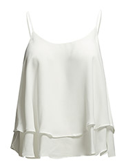 Double-layer top - Natural white