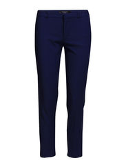 Stretch cotton trousers - Bright blue