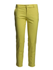 Stretch cotton trousers - Bright yellow