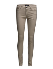 Stretch trousers - Natural white