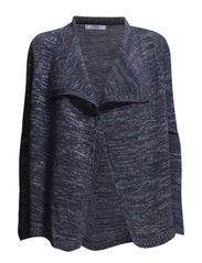 Metal thread cardigan - Navy