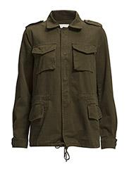 Military-style jacket - Beige - khaki