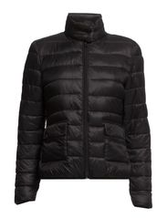 Foldable feather down jacket - Black