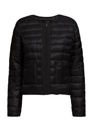 Water-repellent foldable jacket - Black