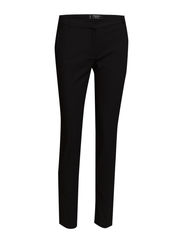 Cotton suit trousers - Black