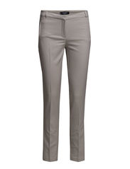 Cotton suit trousers - Lt pastel grey