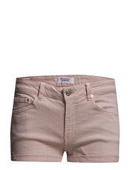 Pink denim shorts - Lt-pastel pink