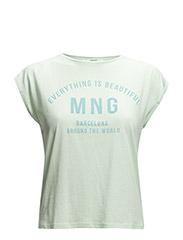 Logo message t-shirt - Green