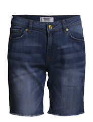 Medium denim bermuda shorts - Open blue