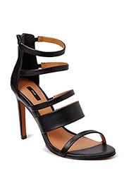 Multiple strap sandals - Black