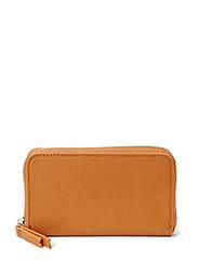 Essential small wallet - Medium brown