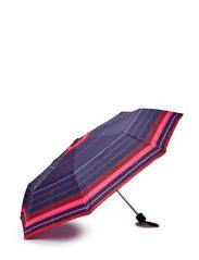 Striped umbrella - Bright red